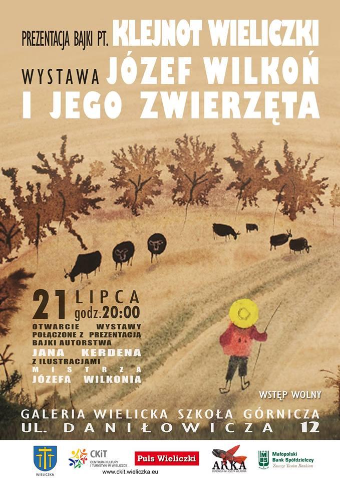 """Wystawa w Wieliczce """"Wilkoń i jego zwierzeta"""""""
