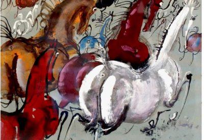 Co Józef Wilkoń namalował od stycznia 2018 do dzisiaj wystawa w Galerii Quadrillion w Warszawie